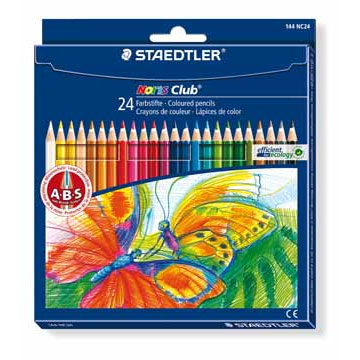 Kleurpotloden, -stiften en pastels