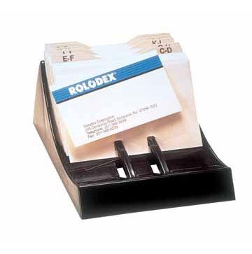 Rolodex voor visitekaarten